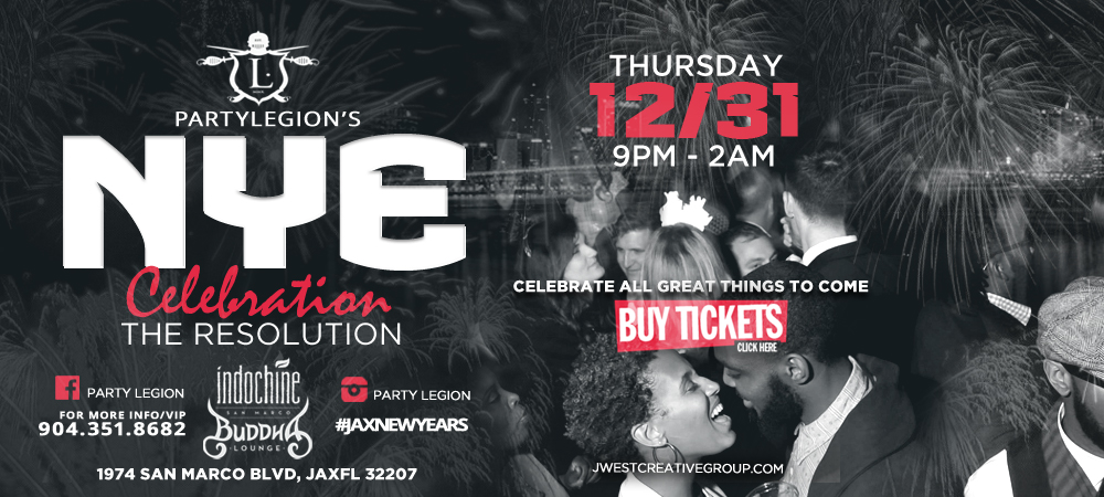 Jax NYE Party Downtown Jacksonville Florida Celebration